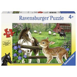 "Ravensburger (09625) - Jane Maday: ""New Neighbors"" - 60 piezas"