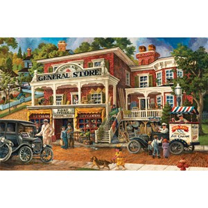 "SunsOut (56073) - Tom Antonishak: ""Fannie Mae's General Store"" - 1000 piezas"