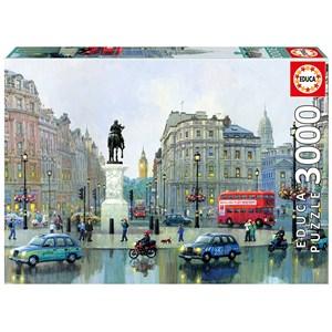 "Educa (16779) - Alexander Chen: ""London Charing Cross"" - 3000 piezas"