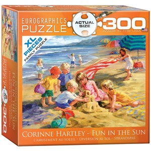 "Eurographics (8300-0449) - Corinne Hartley: ""Fun in the Sun"" - 300 piezas"