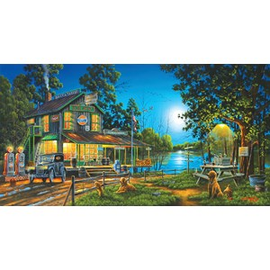 "SunsOut (51310) - Geno Peoples: ""Dixie Hollow General Store"" - 1000 piezas"
