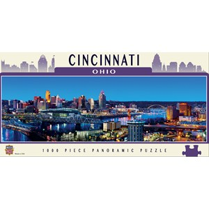 "MasterPieces (71587) - James Blakeway: ""Cincinnati"" - 1000 piezas"