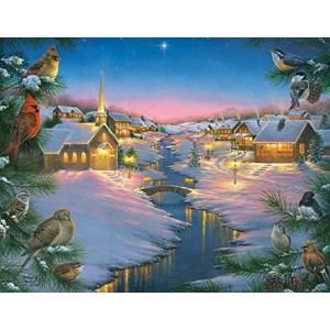 "SunsOut (69609) - Abraham Hunter: ""A Winter's Silent Night"" - 1000 piezas"