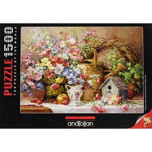 "Anatolian (4502) - Barbara Mock: ""Garden Medley"" - 1500 piezas"