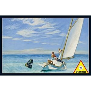 """Piatnik (538643) - Edward Hopper: """"Ground Swell"""" - 1000 piezas"""