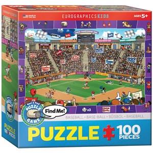 "Eurographics (6100-0473) - ""Baseball"" - 100 piezas"