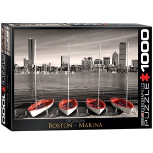"Eurographics (6000-0661) - ""Boston Marina"" - 1000 piezas"