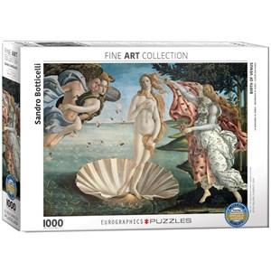 "Eurographics (6000-5001) - Sandro Botticelli: ""Birth of Venus"" - 1000 piezas"