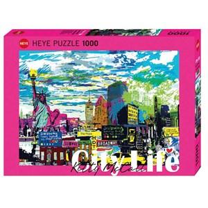 """Heye (29681) - Kitty McCall: """"I Love New York!"""" - 1000 piezas"""
