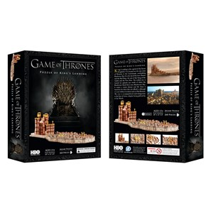 "4D Cityscape (51003) - ""3D Game of Thrones: Kings Landing"" - 260 piezas"