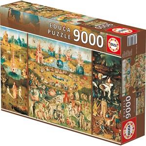 """Educa (14831) - Jerome Bosch: """"El jardín de las delicias"""" - 9000 piezas"""
