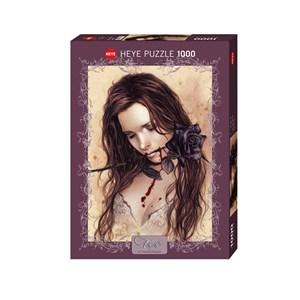 """Heye (29430) - Victoria Francés: """"Dark Rose"""" - 1000 piezas"""