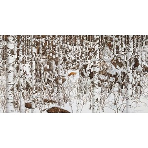 "SunsOut (74402) - Bev Doolittle: ""Woodland Encounter"" - 500 piezas"