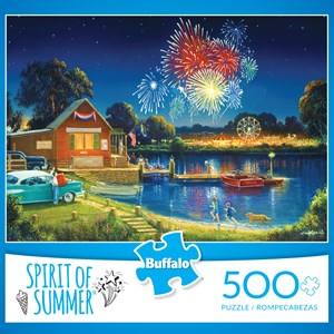 "Buffalo Games (3886) - George Kovach: ""Spirit of Summer (revised)"" - 500 piezas"