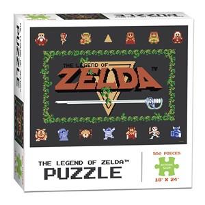 """USAopoly (PZ005-462) - """"The Legend of Zelda™ Classic"""" - 550 piezas"""
