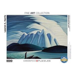 "Eurographics (6000-0924) - Lawren S. Harris: ""Lake and Mountains"" - 1000 piezas"