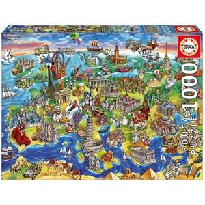 """Educa (16752) - Maria Rabinsky: """"European World"""" - 1000 piezas"""