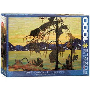 "Eurographics (6000-7166) - Tom Thomson: ""The Jack Pine"" - 1000 piezas"