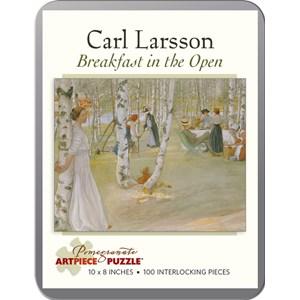 """Pomegranate (AA796) - Carl Larsson: """"Breakfast in the Open"""" - 100 piezas"""
