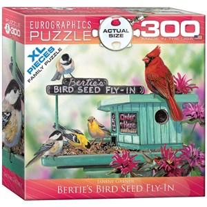 "Eurographics (8300-0604) - Janene Grende: ""Bertie's Bird Seed Fly-In"" - 300 piezas"