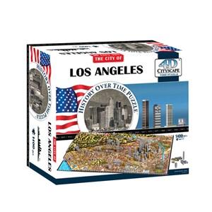 "4D Cityscape (40082) - ""Los Angeles"" - 1400 piezas"