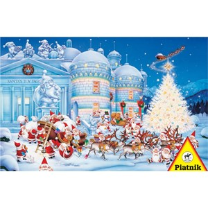 "Piatnik (562242) - ""Toy Factory"" - 1000 piezas"