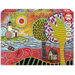 """Educa (17115) - Karla Gerard: """"Lighthouse 1"""" - 1000 piezas"""
