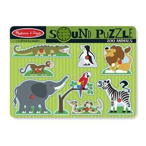 """Melissa and Doug (727) - """"Zoo Animals"""" - 8 piezas"""