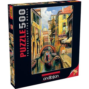 """Anatolian (3543) - Haixia Liu: """"Sunday in Venice"""" - 500 piezas"""