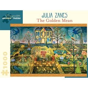 """Pomegranate (AA929) - Julia Zanes: """"The Golden Mean"""" - 1000 piezas"""