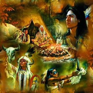 "SunsOut (21827) - Russ Docken: ""Native American Dreams"" - 1000 piezas"