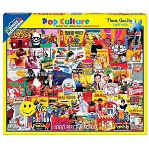 "White Mountain (1148PZ) - Charlie Girard: ""Pop Culture"" - 1000 piezas"