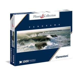 """Clementoni (39353) - Philip Plisson: """"Blast of Wind on the Pointe des Poulains"""" - 1000 piezas"""