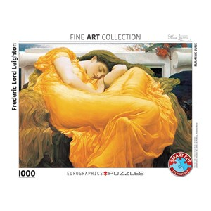 "Eurographics (6000-3214) - Frederic Leighton: ""Flaming June"" - 1000 piezas"