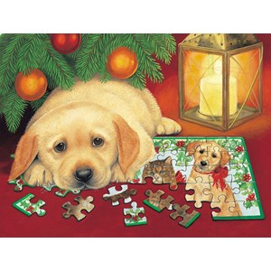 "SunsOut (59406) - Avril Haynes: ""A Puzzle for Christmas"" - 500 piezas"