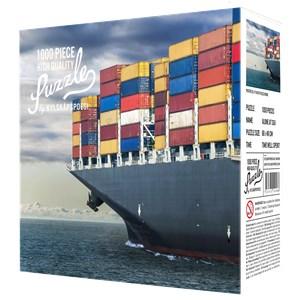 """Kylskåpspoesi (00488) - """"Alone at Sea"""" - 1000 piezas"""