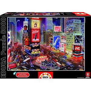 """Educa (16325) - """"Times Square, New York"""" - 8000 piezas"""
