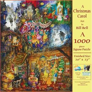 """SunsOut (21946) - Bill Bell: """"A Christmas Carol"""" - 1000 piezas"""