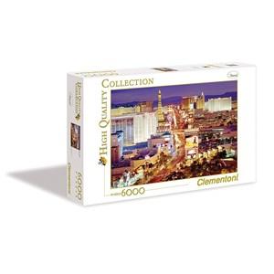 """Clementoni (36510) - """"Las Vegas"""" - 6000 piezas"""