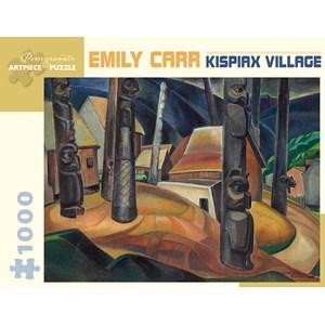 "Pomegranate (AA925) - Emily Carr: ""Kispiax Village"" - 1000 piezas"