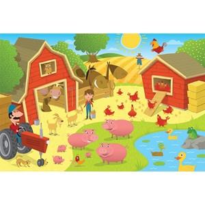 """Cobble Hill (58863) - """"Pig Pen"""" - 35 piezas"""