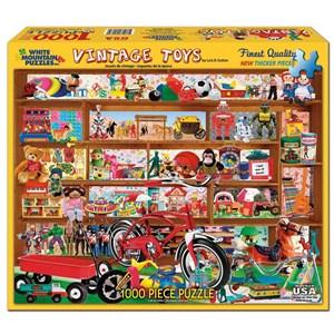 """White Mountain (972PZ) - Lois B. Sutton: """"Vintage Toys"""" - 1000 piezas"""