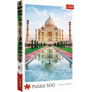 "Trefl (371642) - ""Taj Mahal, India"" - 500 piezas"
