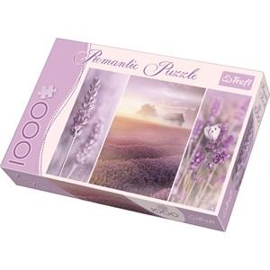 """Trefl (104110) - Sandra Kreuzinger: """"Romantic Lavender Fields"""" - 1000 piezas"""