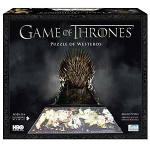 "4D Cityscape (51000) - ""Game of Thrones: Westeros"" - 1500 piezas"