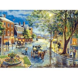 """SunsOut (28076) - Jess Hager: """"Seaport Marketplace"""" - 1000 piezas"""