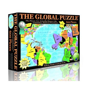 """A Broader View (151) - """"The Global Puzzle"""" - 600 piezas"""