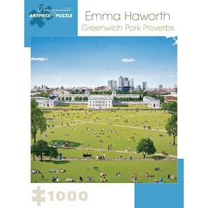 "Pomegranate (AA921) - Emma Haworth: ""Greenwich Park Proverbs"" - 1000 piezas"