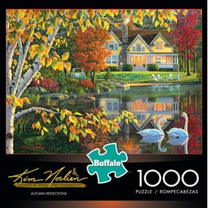 "Buffalo Games (11605) - Kim Norlien: ""Autumn Reflections"" - 1000 piezas"