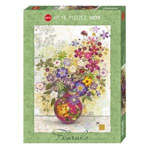 """Heye (29664) - Jane Crowther: """"Pink Vase"""" - 1000 piezas"""